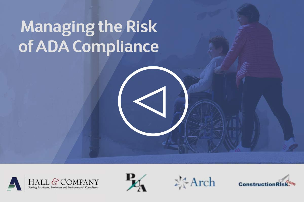 Managing the Risk of ADA Compliance