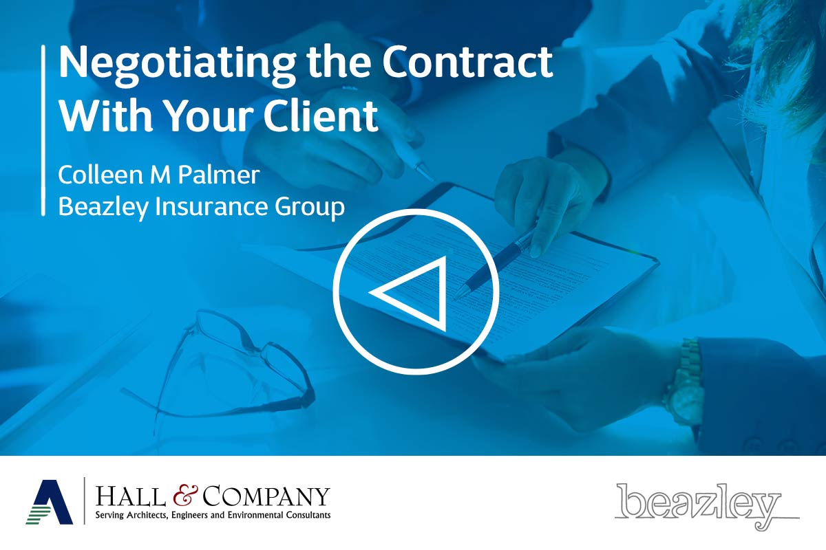 Negotiating the Contract with your Client