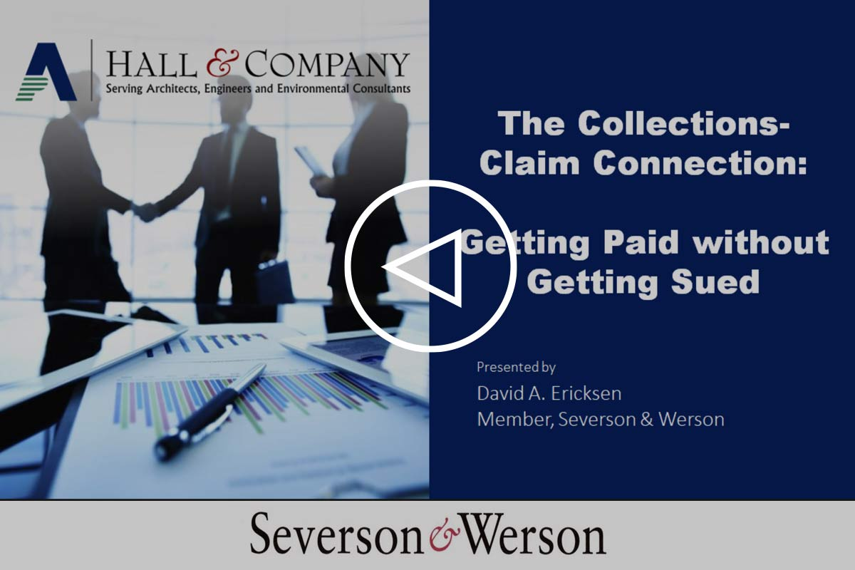 The Collections - Claim Connection: Getting Paid without Getting Sued