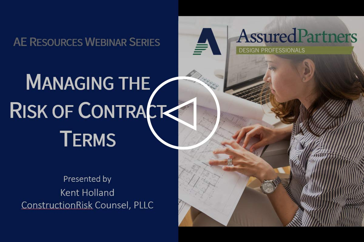 Managing the Risk of Contract Terms