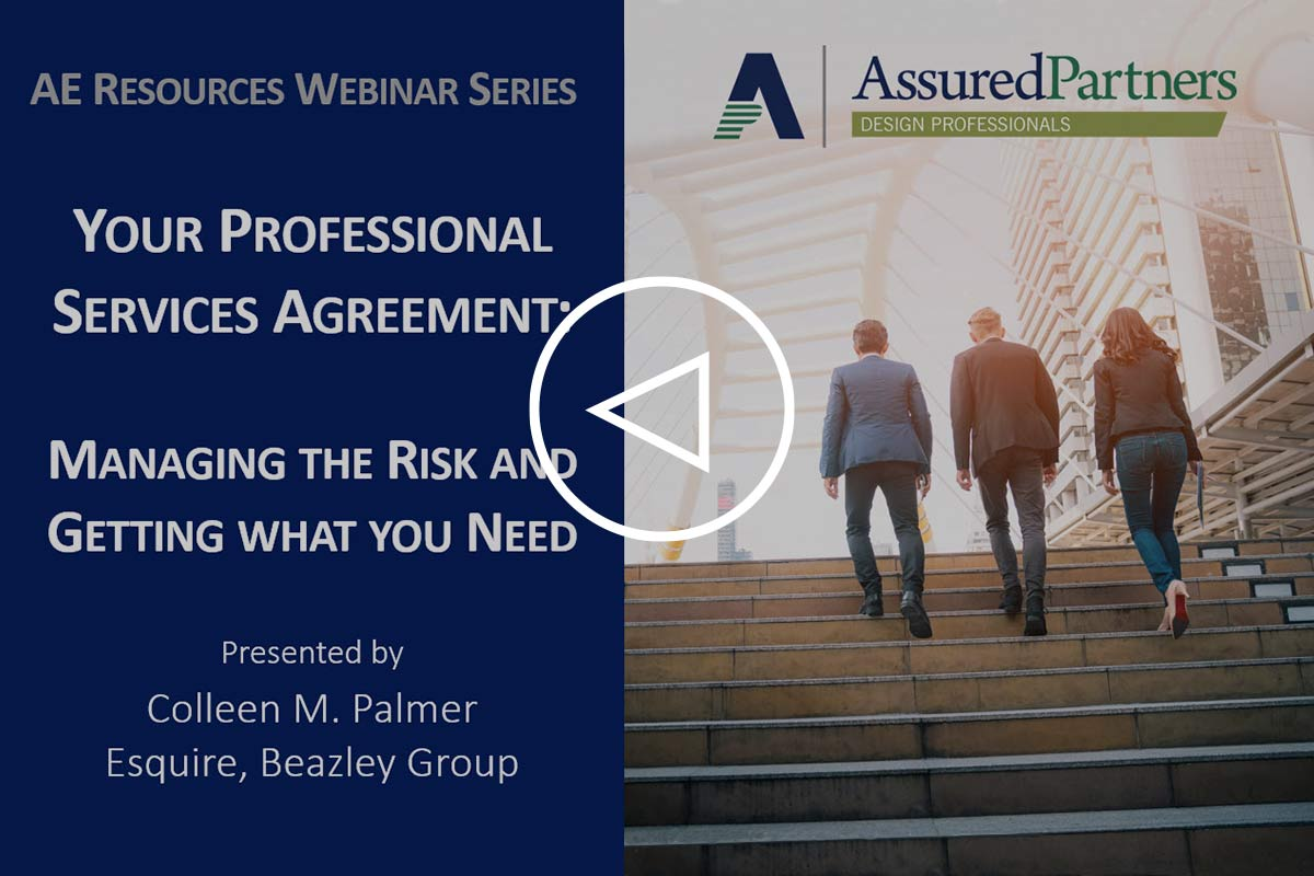 Your Professional Services Agreement: Managing the Risk & Getting What You Need